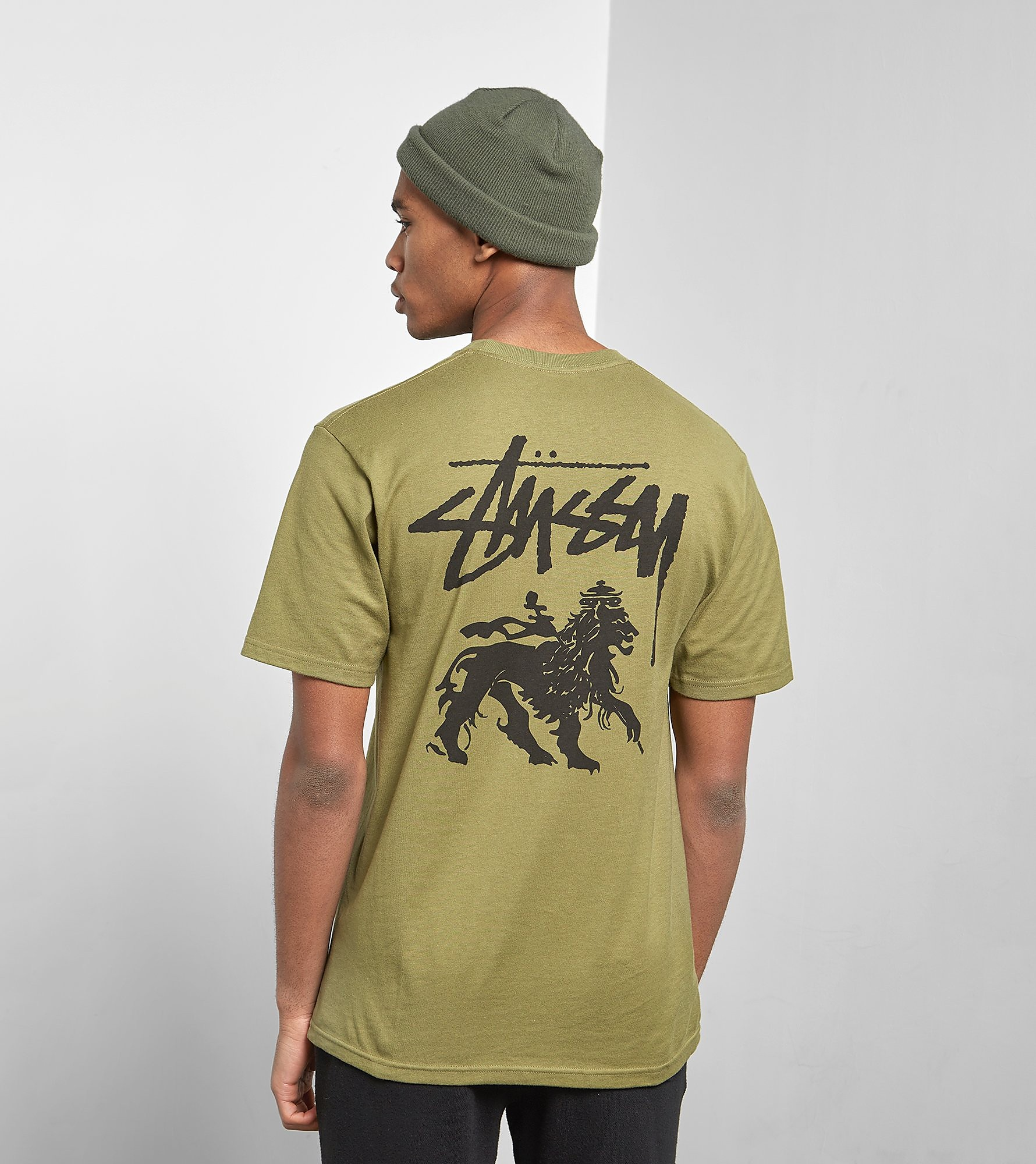 Stussy T-Shirt Stock Lion