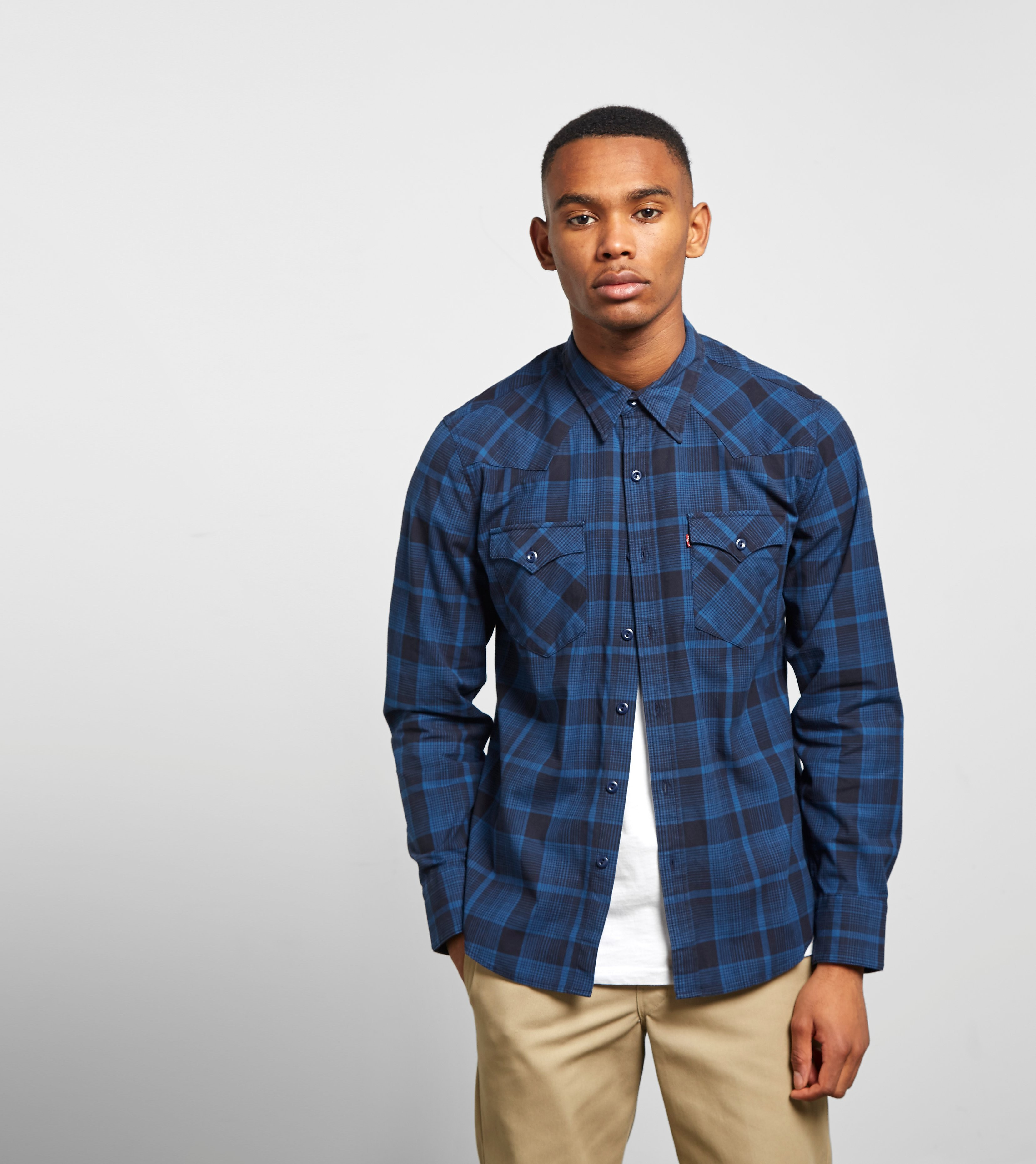Levis Barstow Shirt, Blue