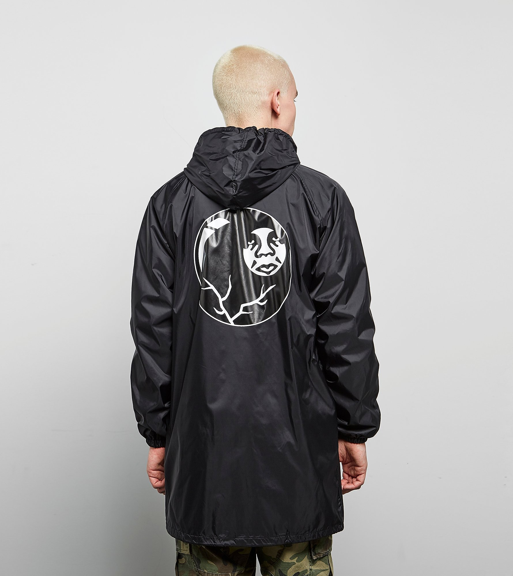 Obey 8 Ball Trench Coat