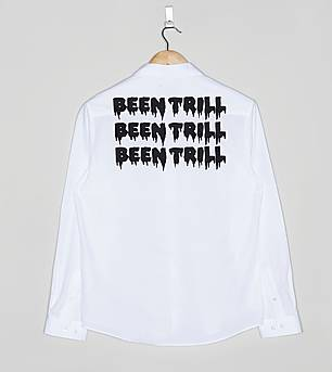BEEN TRILL Small Hashtag Long Sleeved Shirt