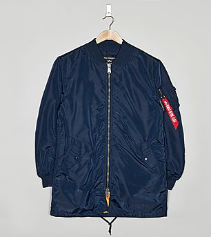 Alpha Industries MA-1 Long Bomber Jacket