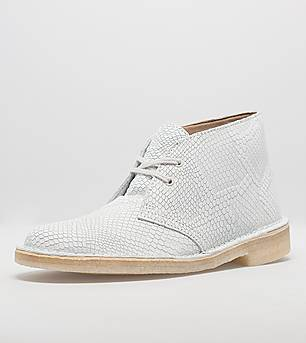 Clarks Originals Desert Boot Snake Print Leather