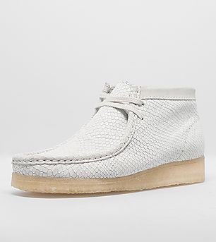Clarks Originals Wallabee Boot Snake Print Leather Women's