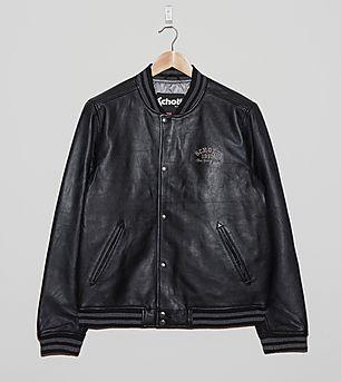 Schott LC 1701 Leather Varsity Jacket