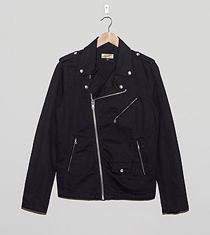 Schott Denim Biker Jacket
