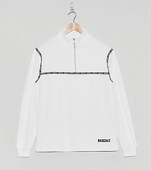 Rascals Half-Zip Terry Jersey Sweatshirt
