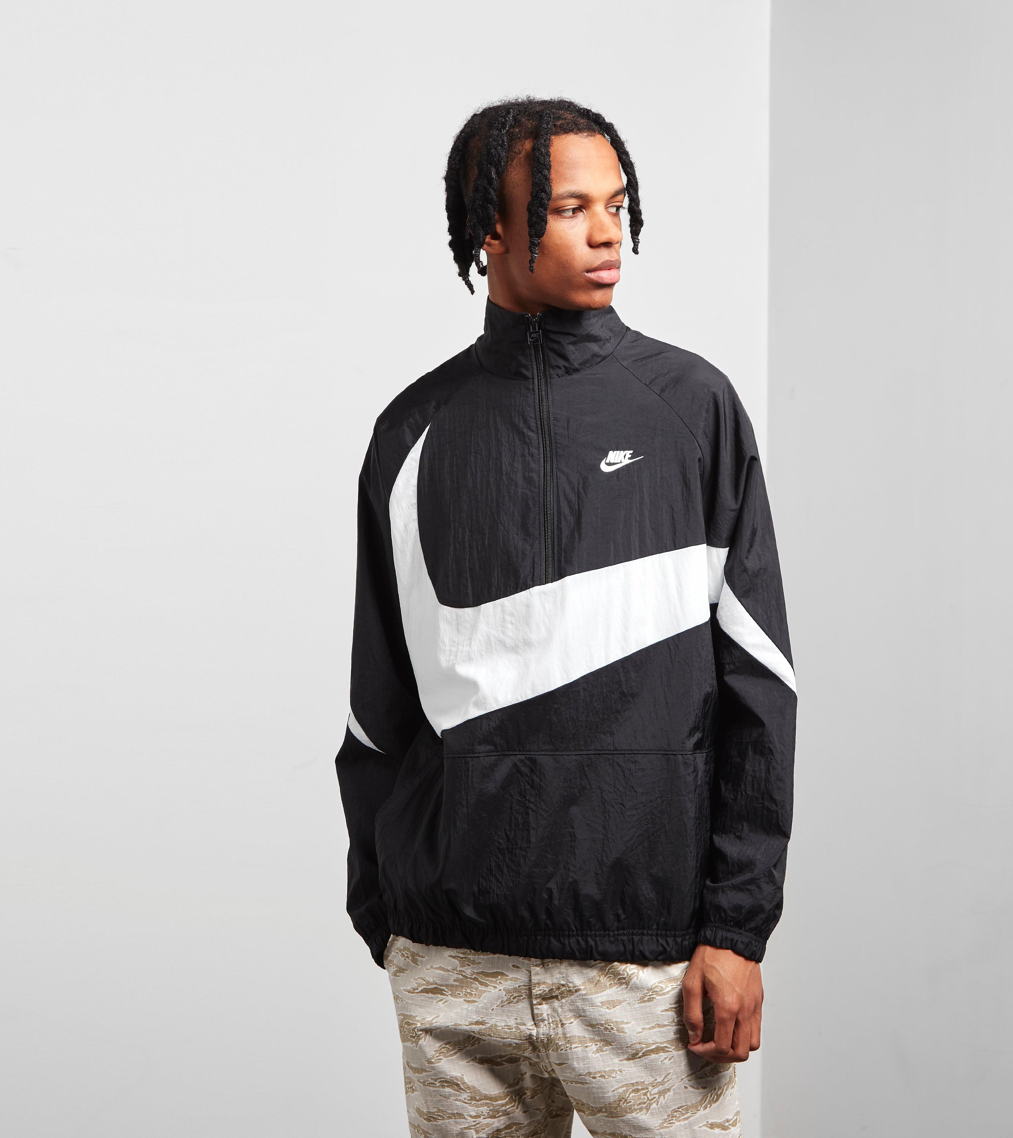 Nike Swoosh Half Zip Woven Jacket