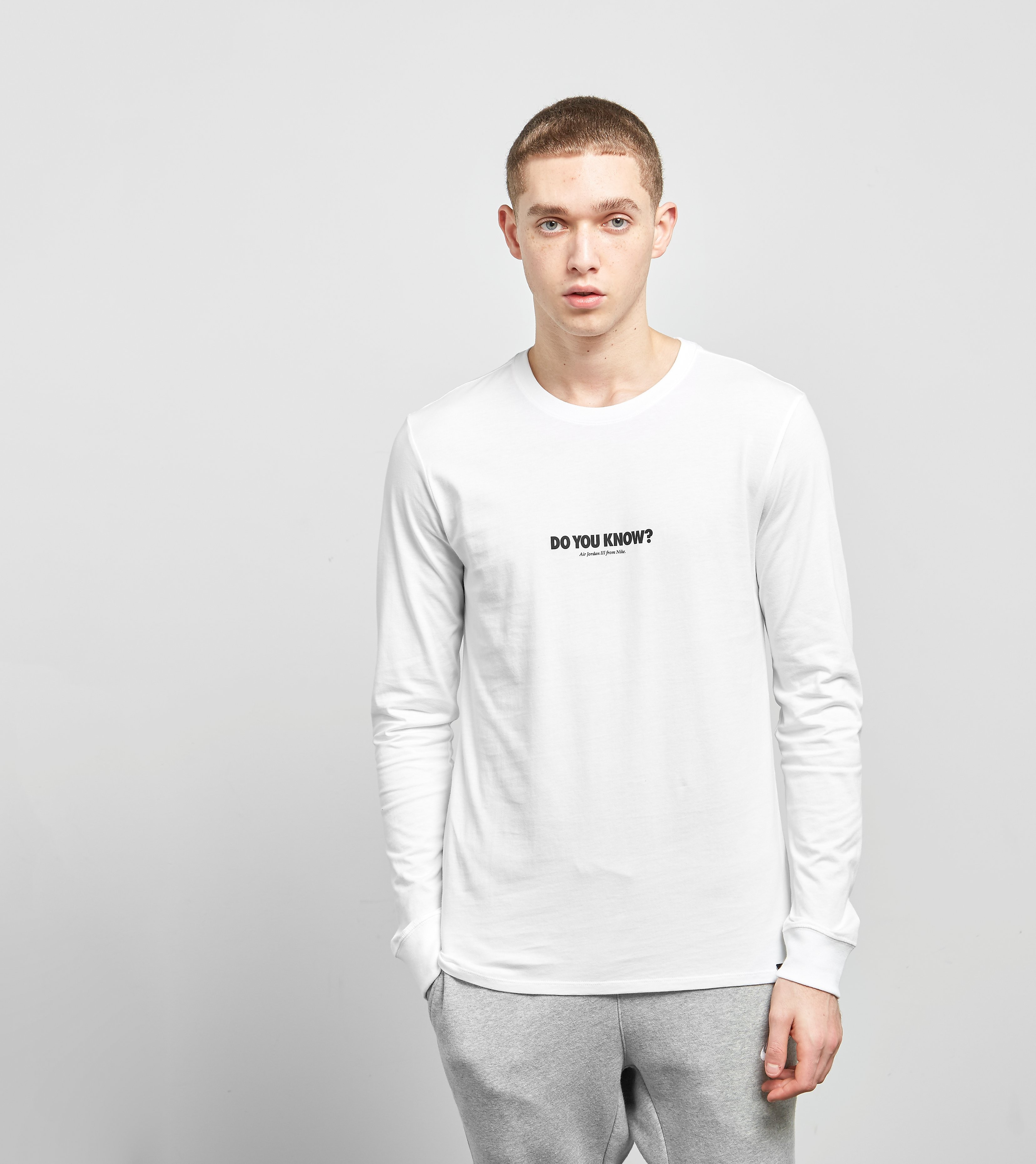 Jordan Do You Know? Long Sleeved T-Shirt