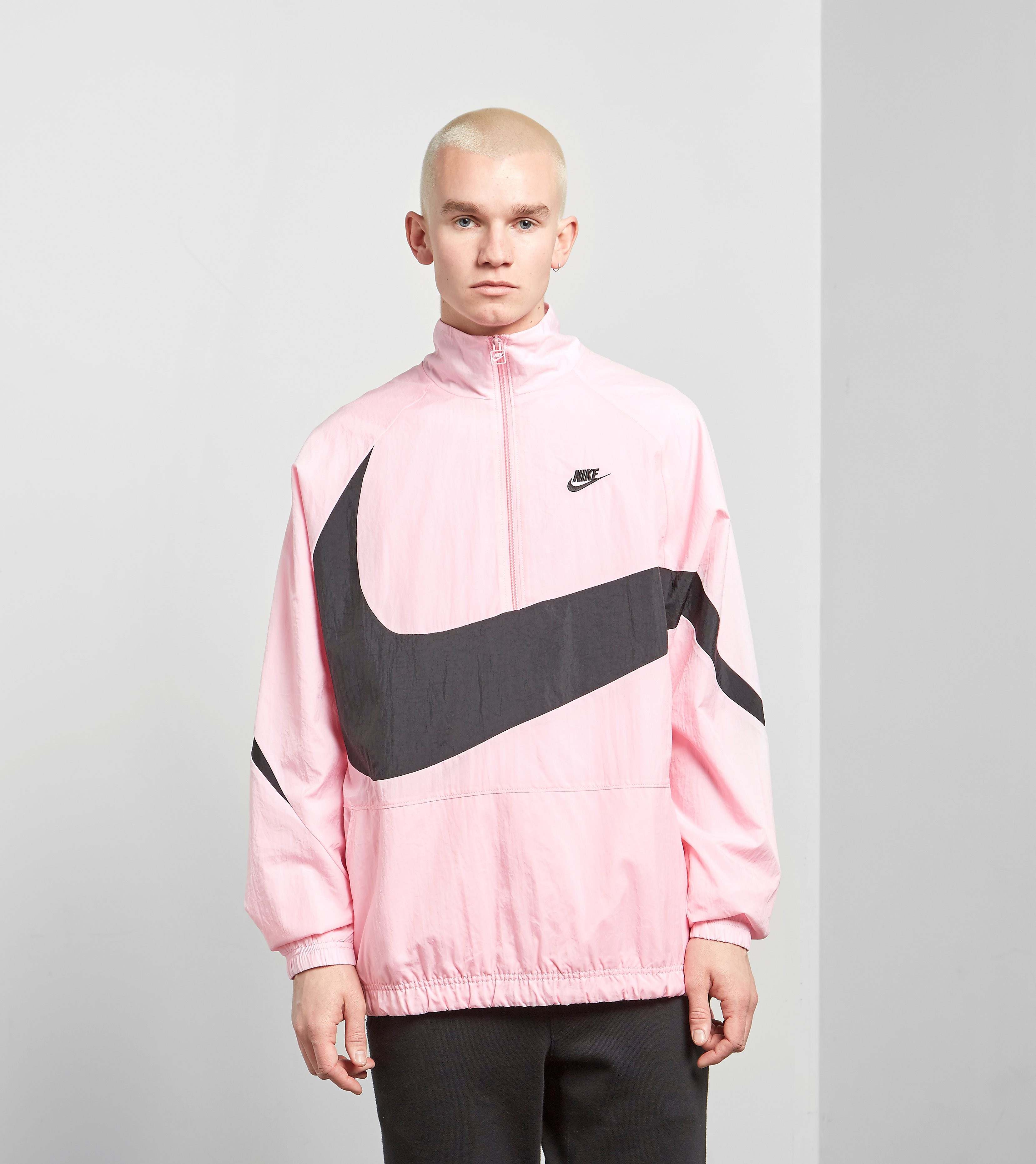 Nike Swoosh Half Zip Woven Jas