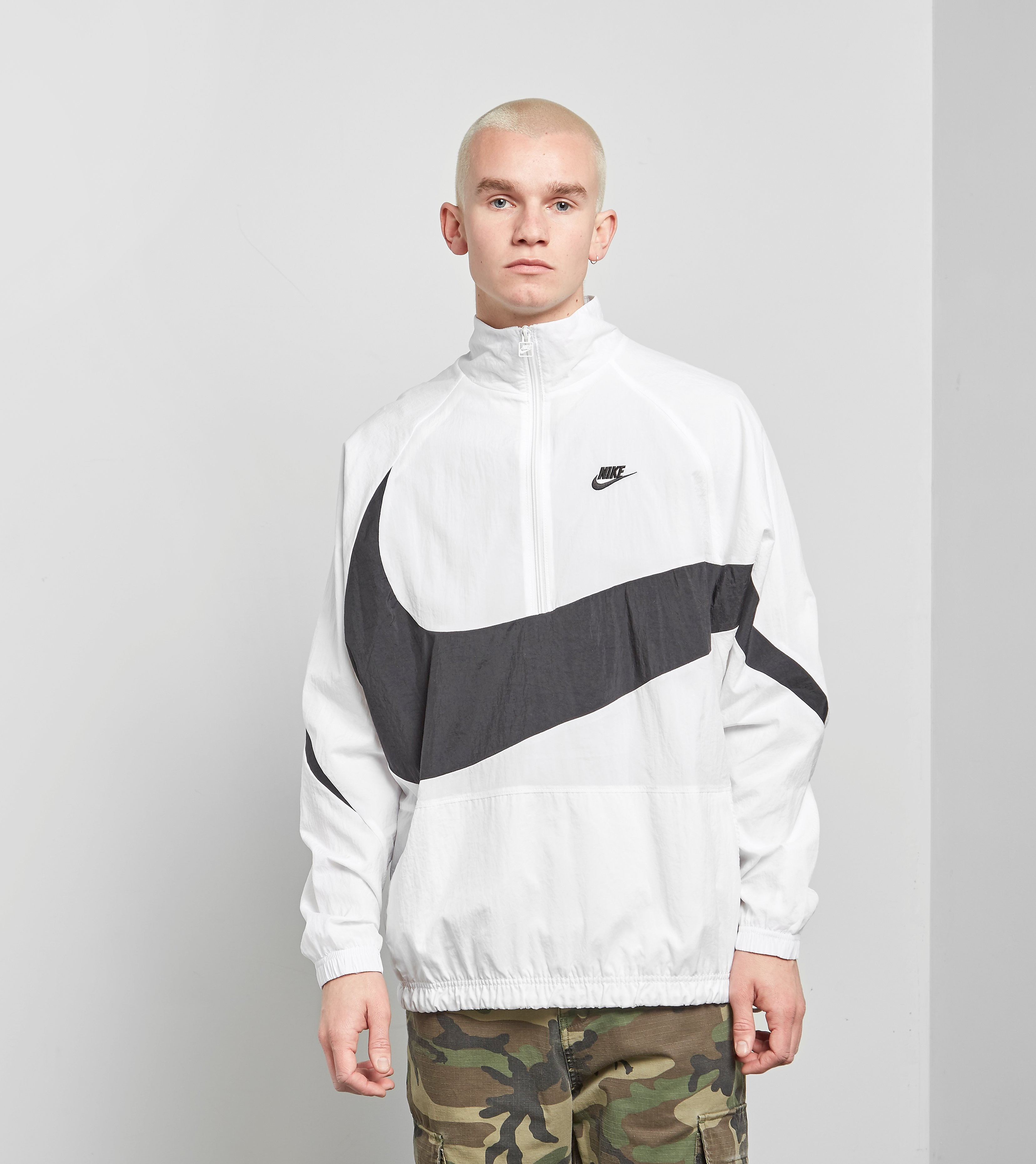 Nike Veste Swoosh demi-zip
