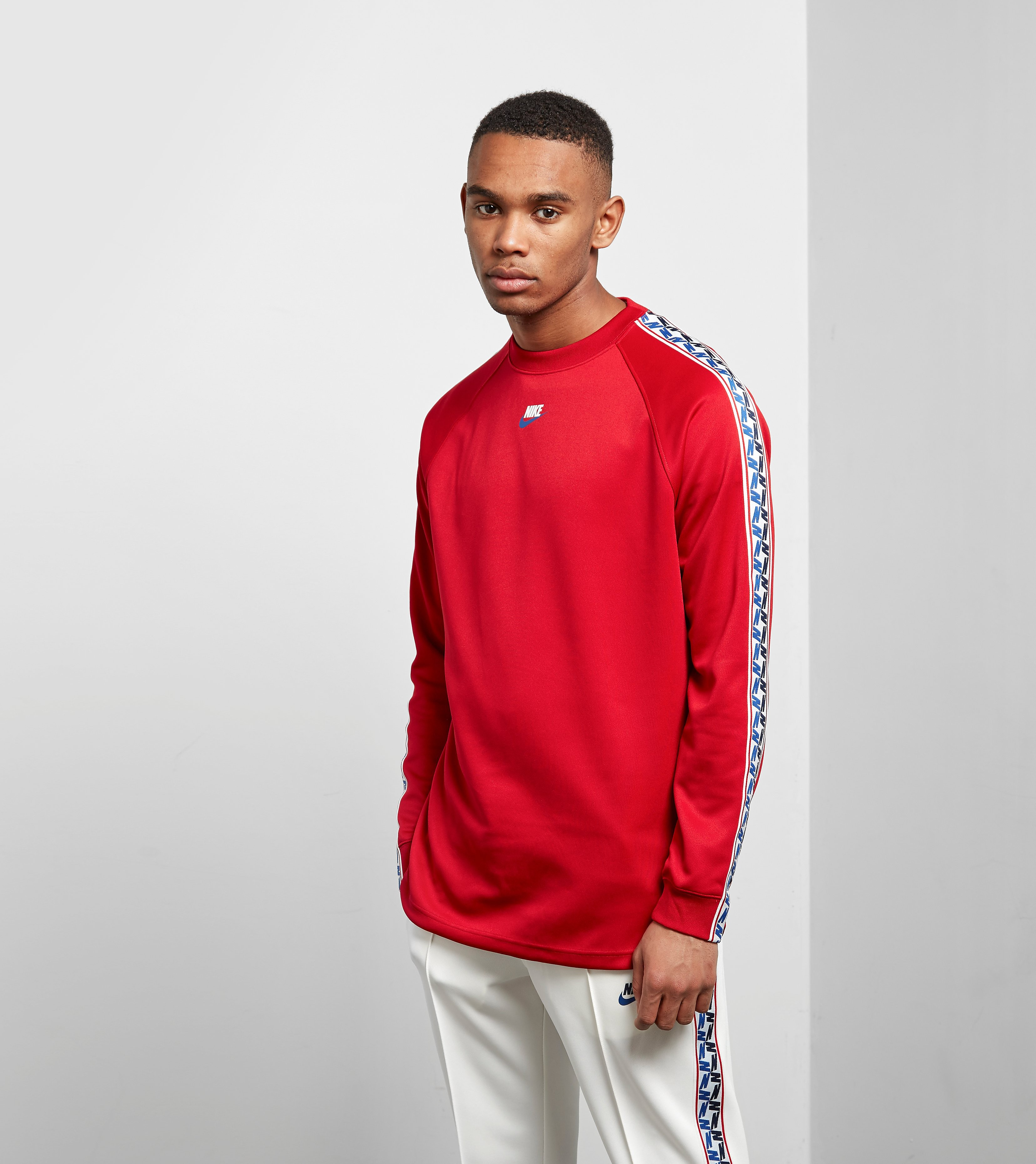 Nike Taped Long Sleeved T-Shirt n
