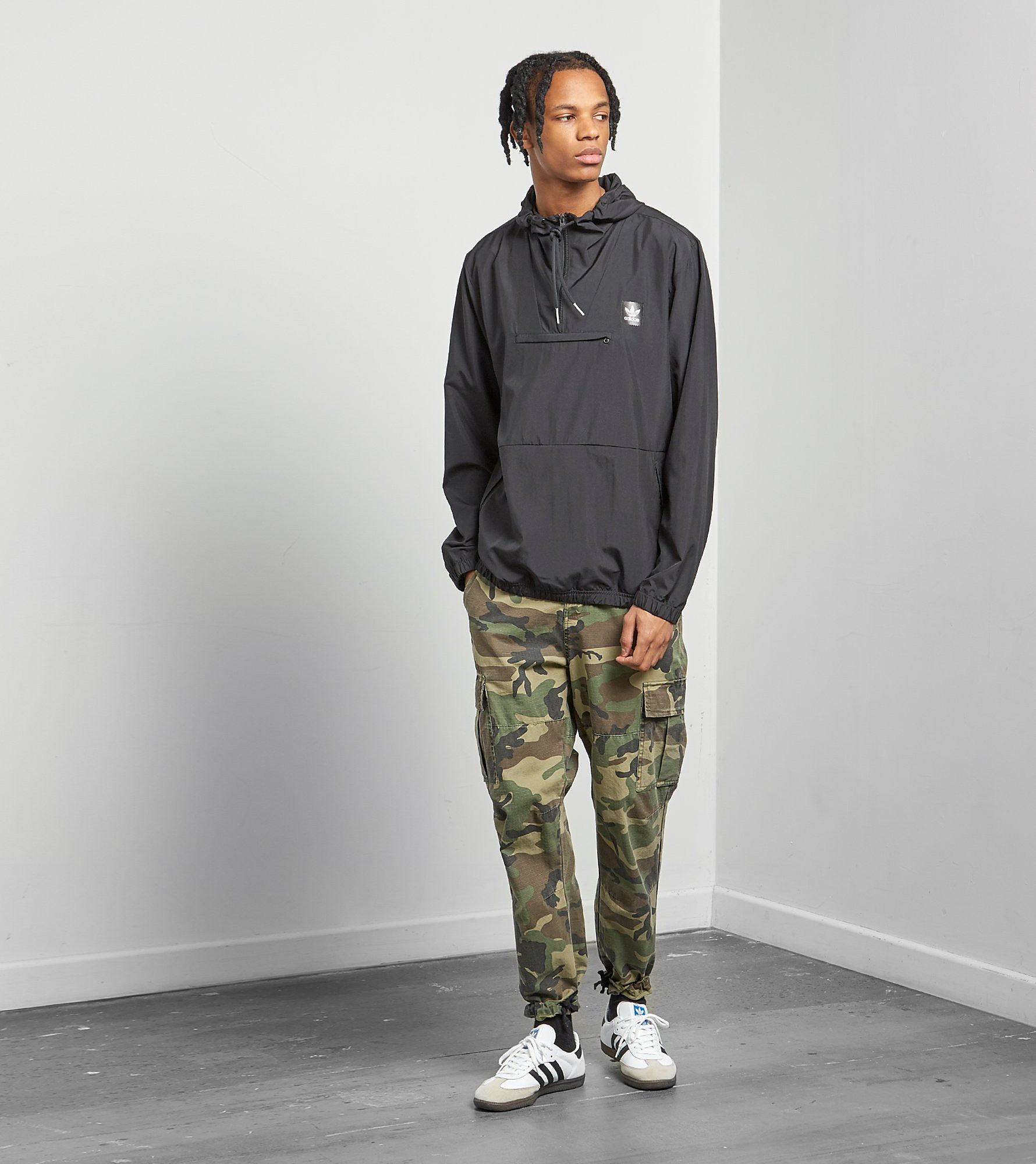 adidas Originals Half Zip Hip Lightweight Jacka