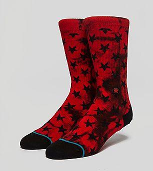 Stance Patriot Star Tie Dye Socks
