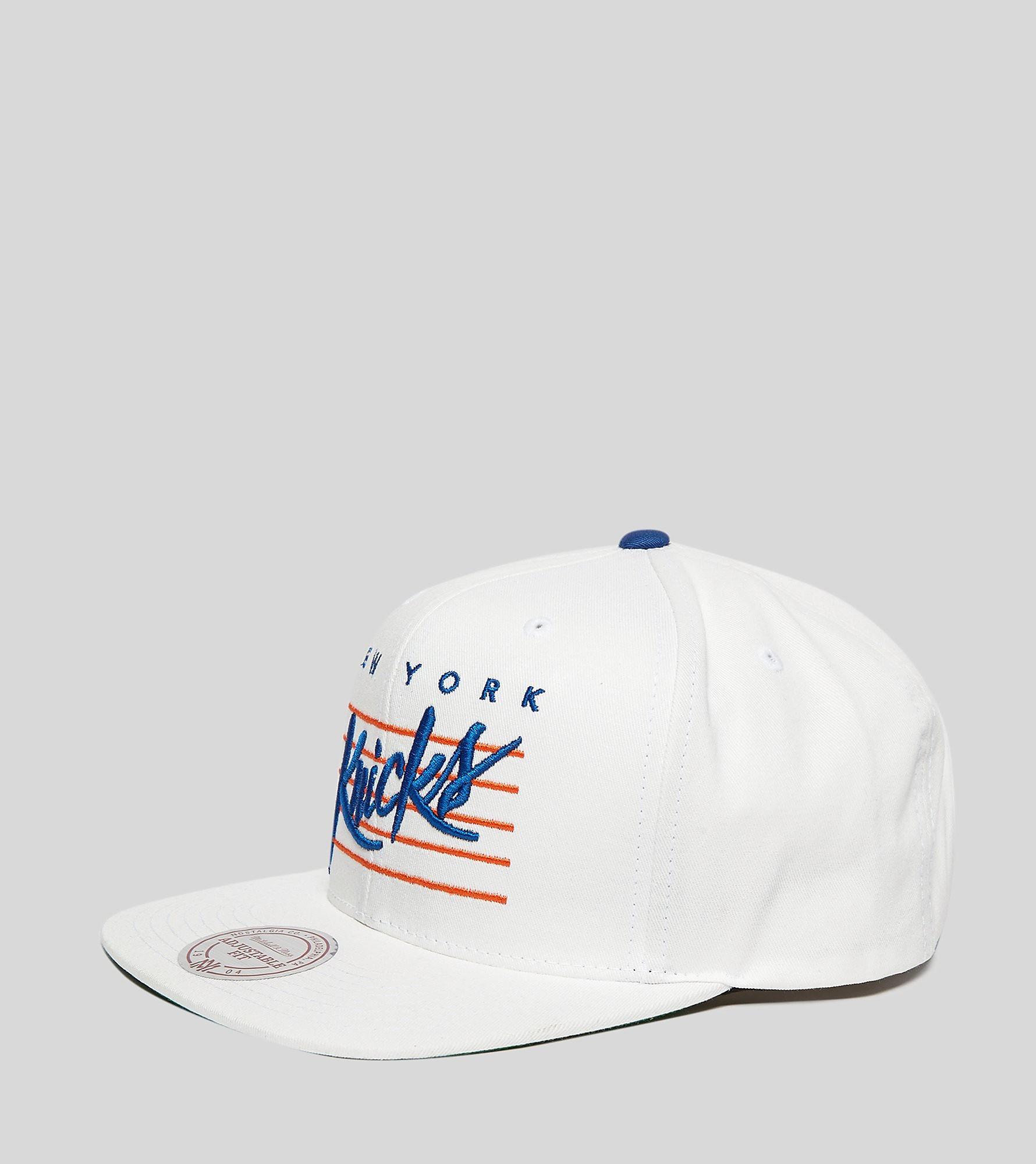 Mitchell & Ness Cursive Script New York Knicks Snapback Cap