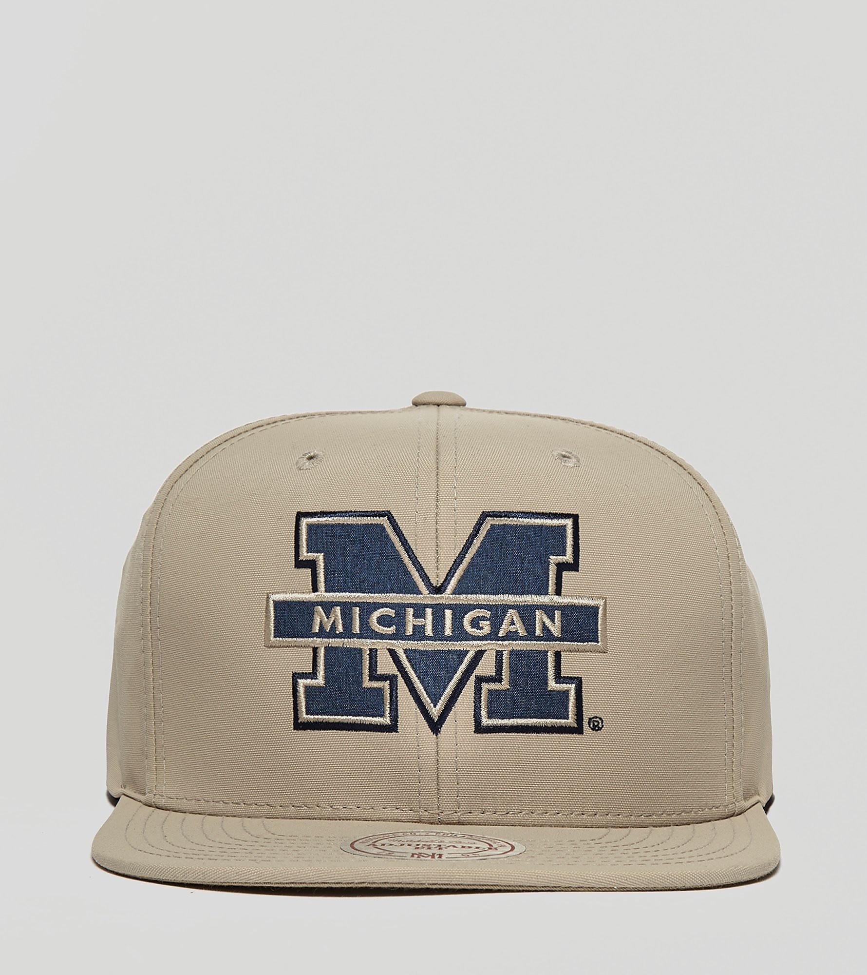 Mitchell & Ness Milo Michigan Snapback Cap