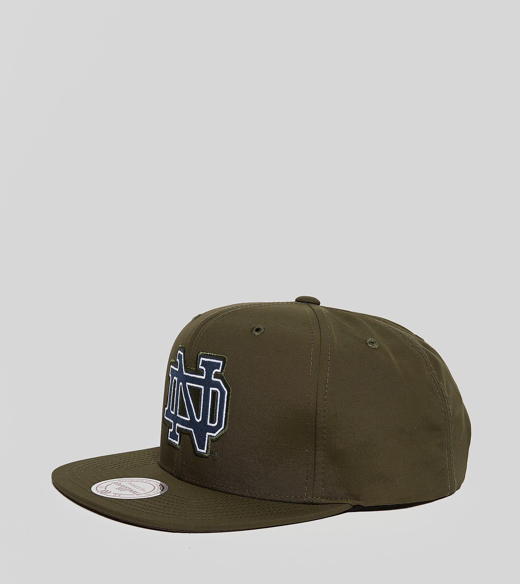 Mitchell & Ness Milo Notre Dame Snapback Cap