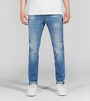 Lee Malone Skinny Jeans 'Beach Blue'