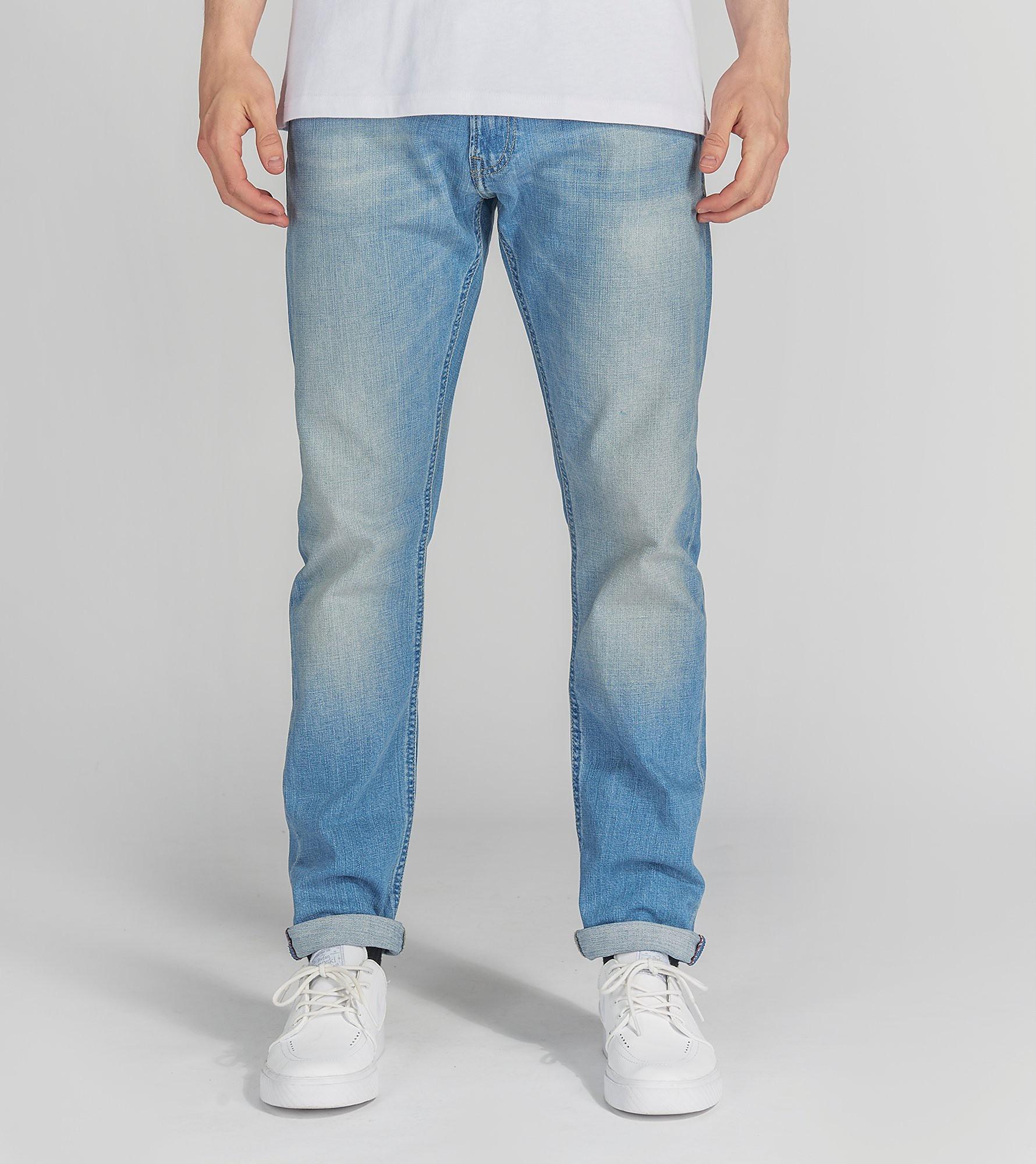 Lee Luke Slim Tapered Jeans 'Beach Blue'