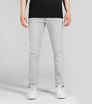 Lee Luke Slim Tapered Fit Jeans 'Grey Cloud'