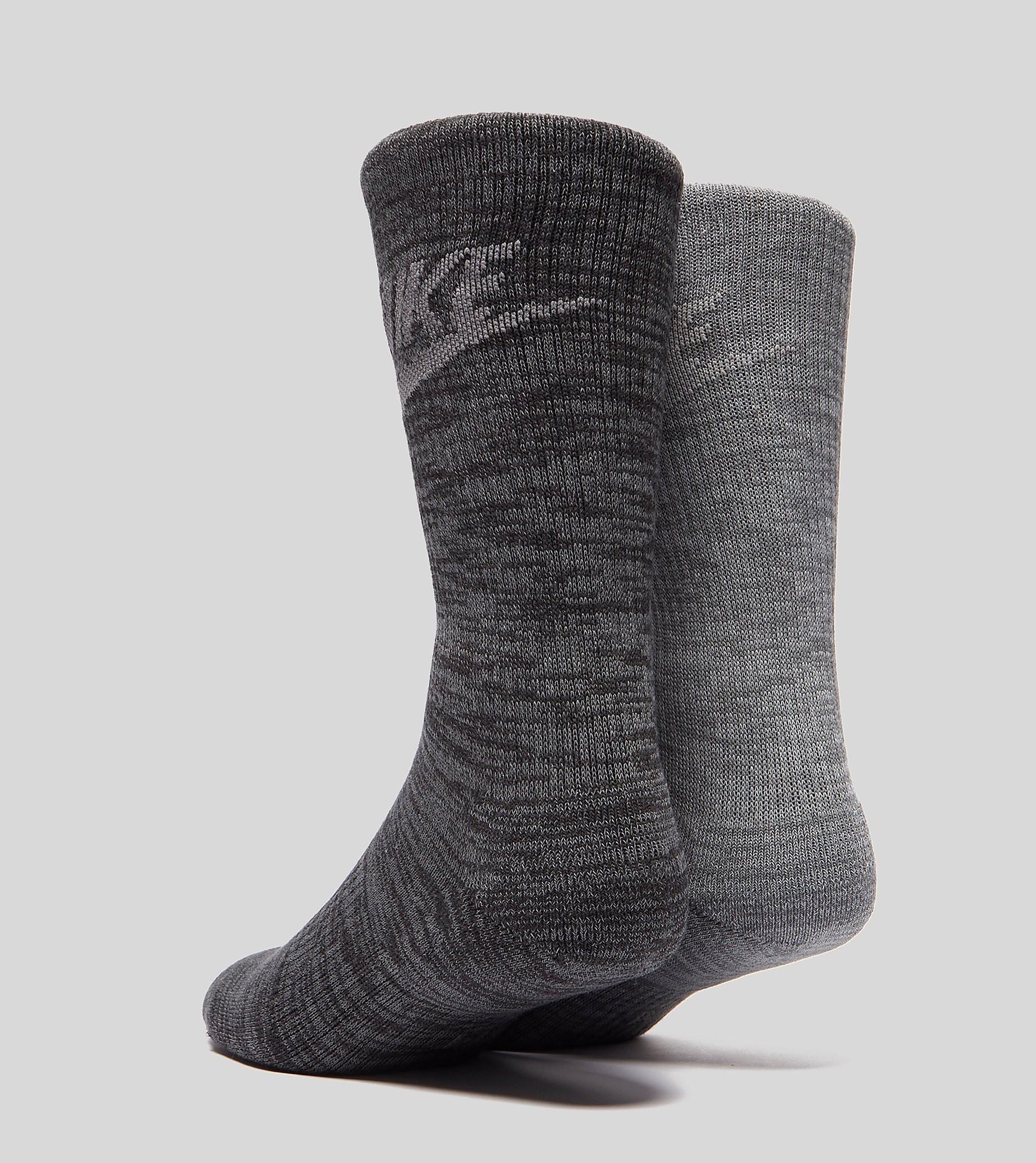 Nike Advance Crew Socks Two Pack