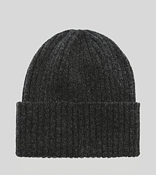 size? essentials Ribbed Beanie Hat