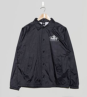 Obey Diablo Coach Jacket