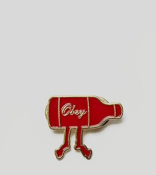 Obey Walk Home Pin