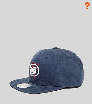 Mitchell & Ness Peached Cotton Strapback Cap - size? Exclusive