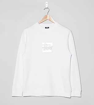 Stussy Reflective Crew Jumper