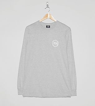 Stussy Long-Sleeved Laguna Dot T-Shirt