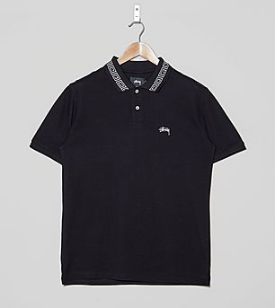Stussy Spiral Collar Polo Shirt