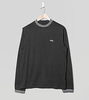 Stussy Spiral Collar Long-Sleeved T-Shirt