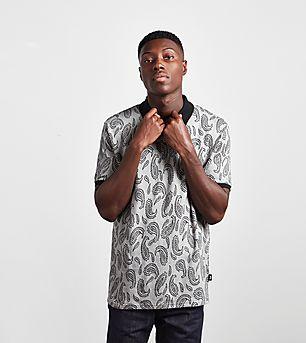 Stussy Paisley Jacquard Polo Shirt