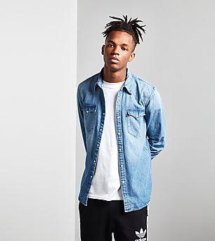 Levis Barstow Long-Sleeved Denim Shirt
