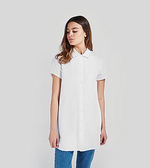 Stussy Court Chambray Shirt Dress