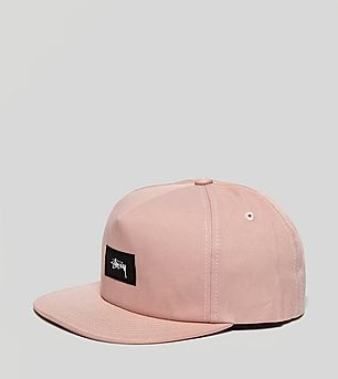 Stussy Linen Strapback Cap