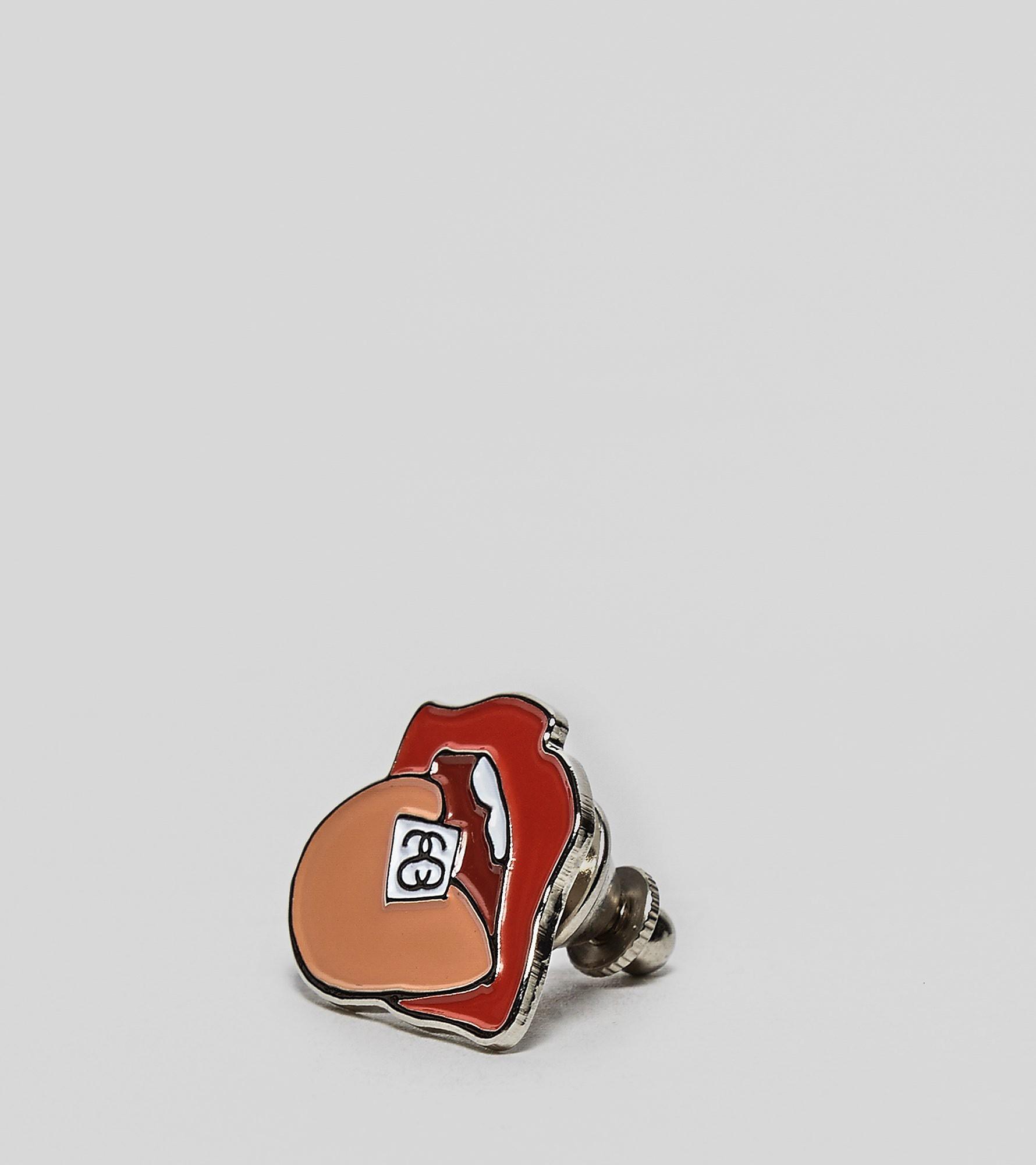 Stussy Drop Pin Badge