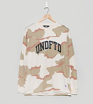 Undefeated Camo Long-Sleeved Crew