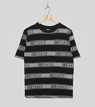 Undefeated Jacquard SS Crew T-Shirt