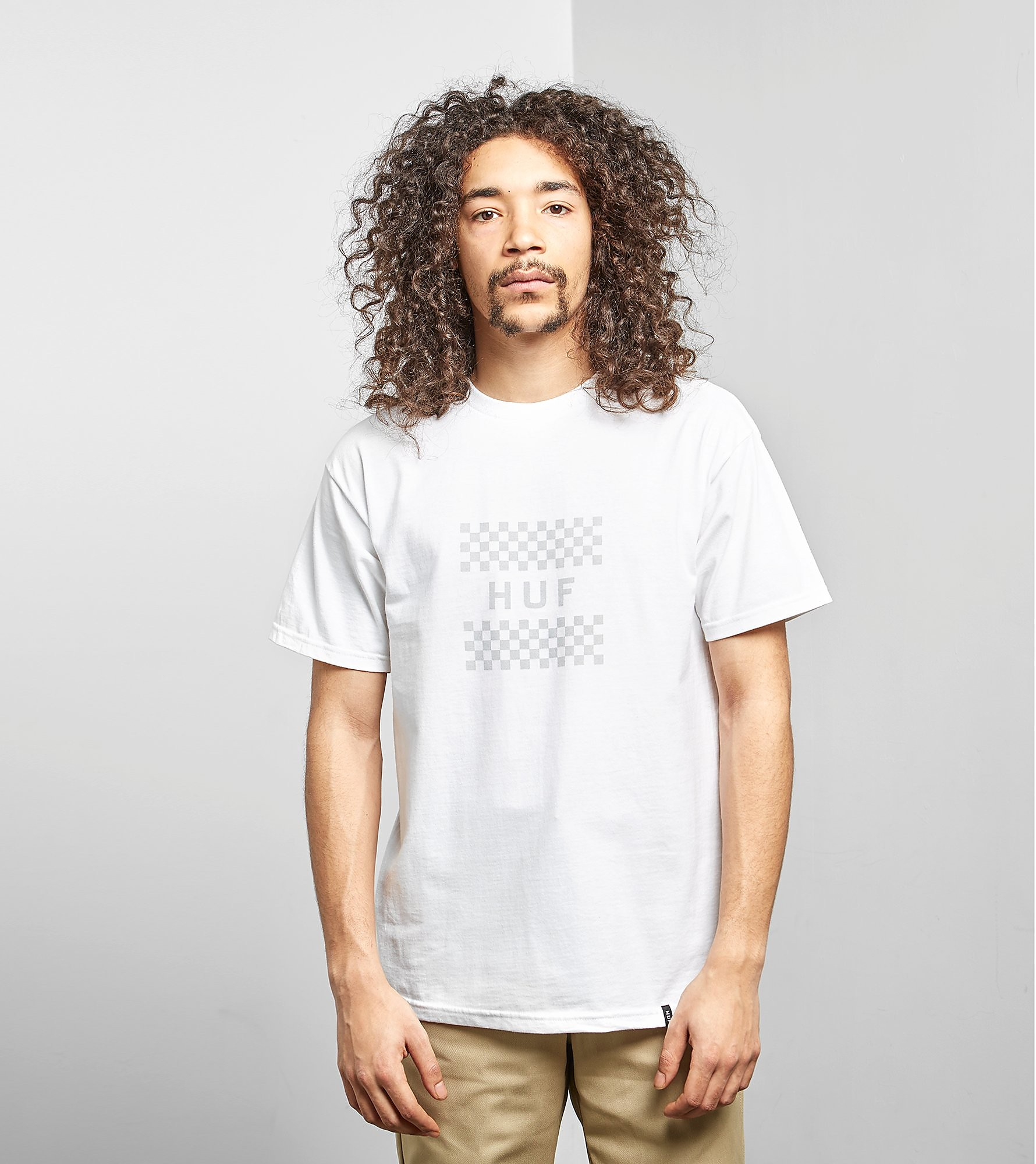HUF T-Shirt Blackout Check Box
