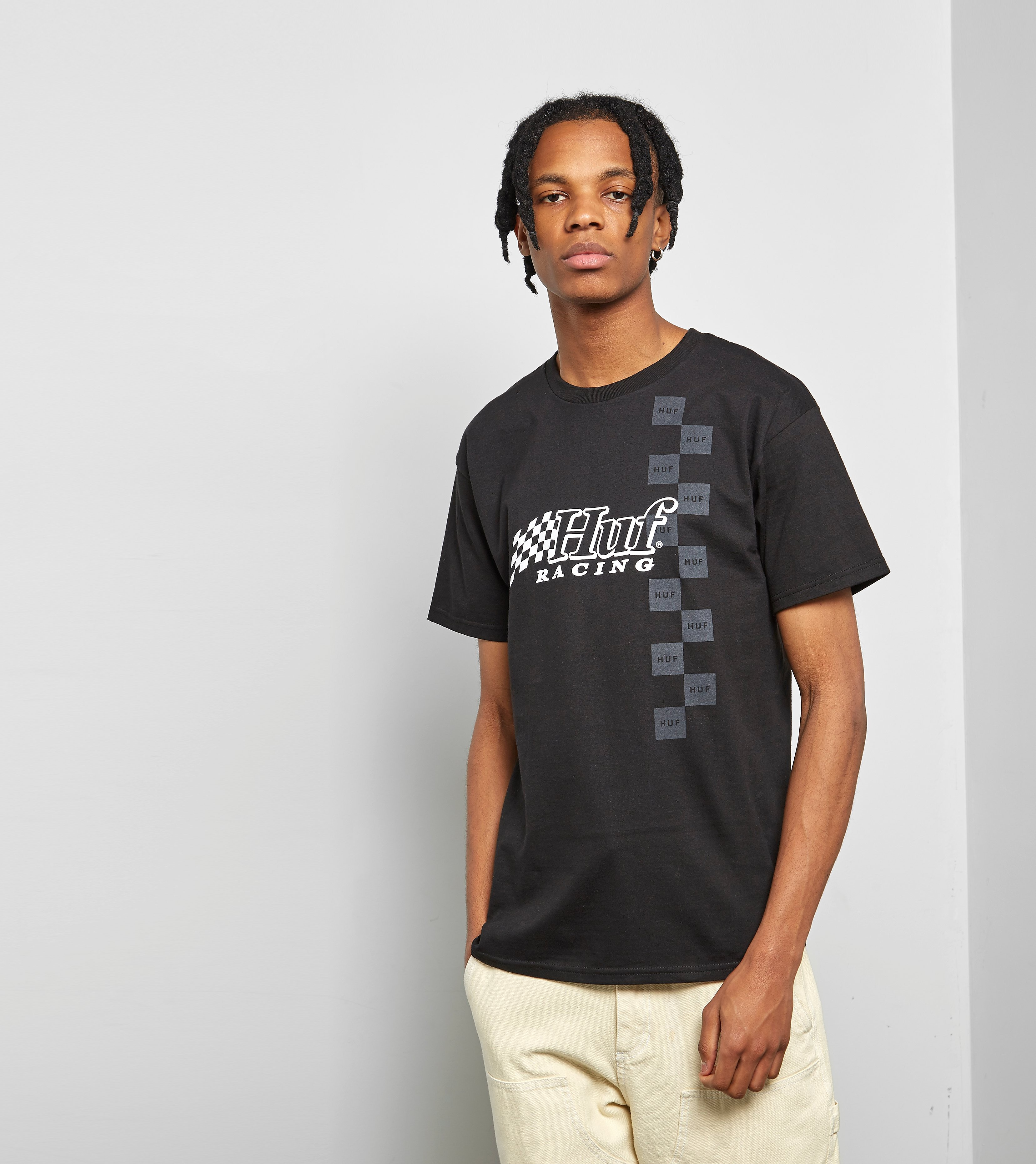 HUF T-Shirt Blackout Racing