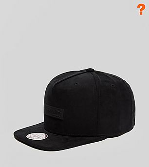 Mitchell & Ness All Suede Snapback Cap - size? Exclusive