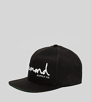 Diamond Supply OG Script Snapback