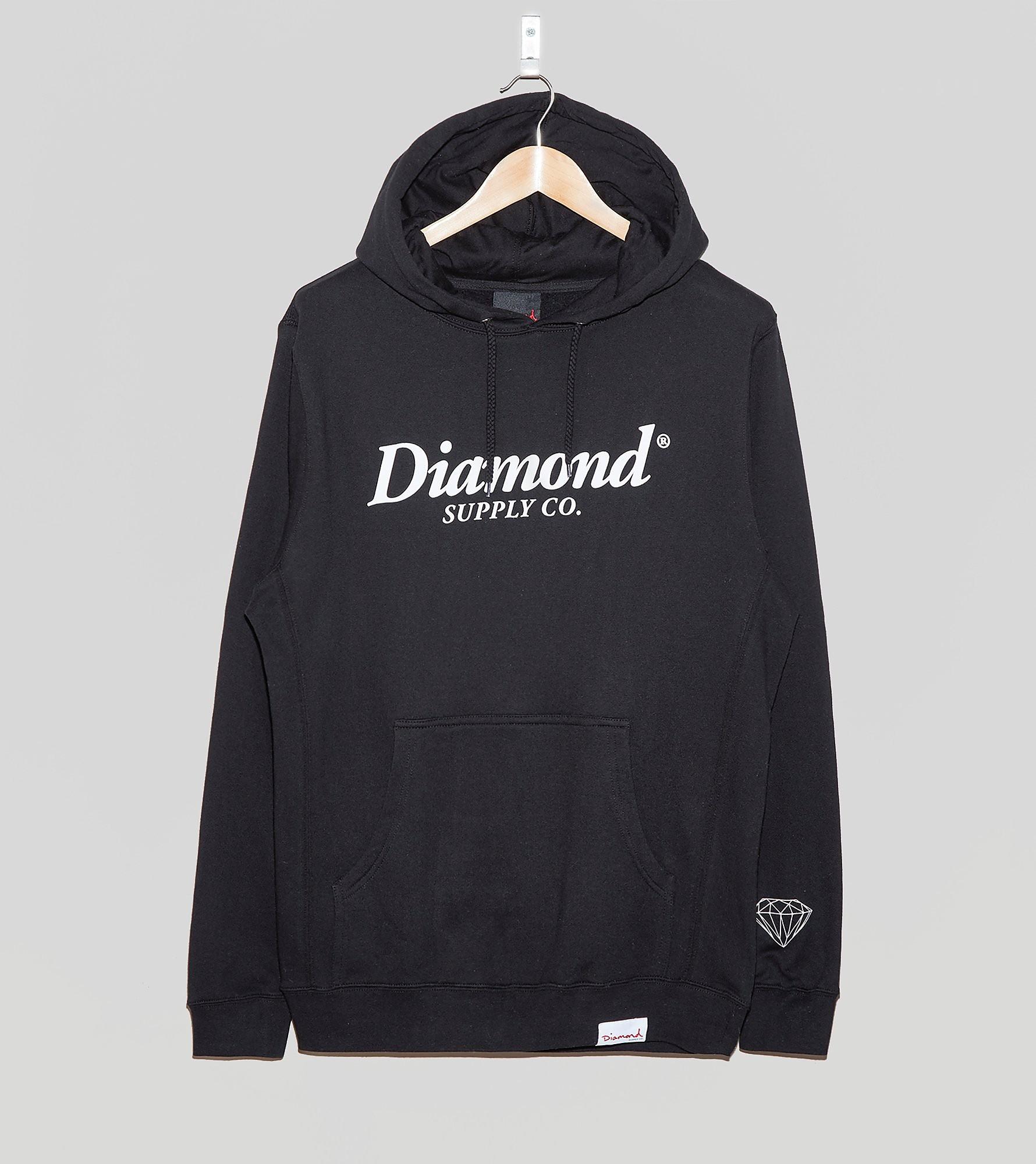Diamond Supply Typeset Overhead Hoody