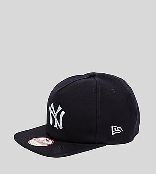 New Era Retro NY Yankees A Frame Snapback Cap