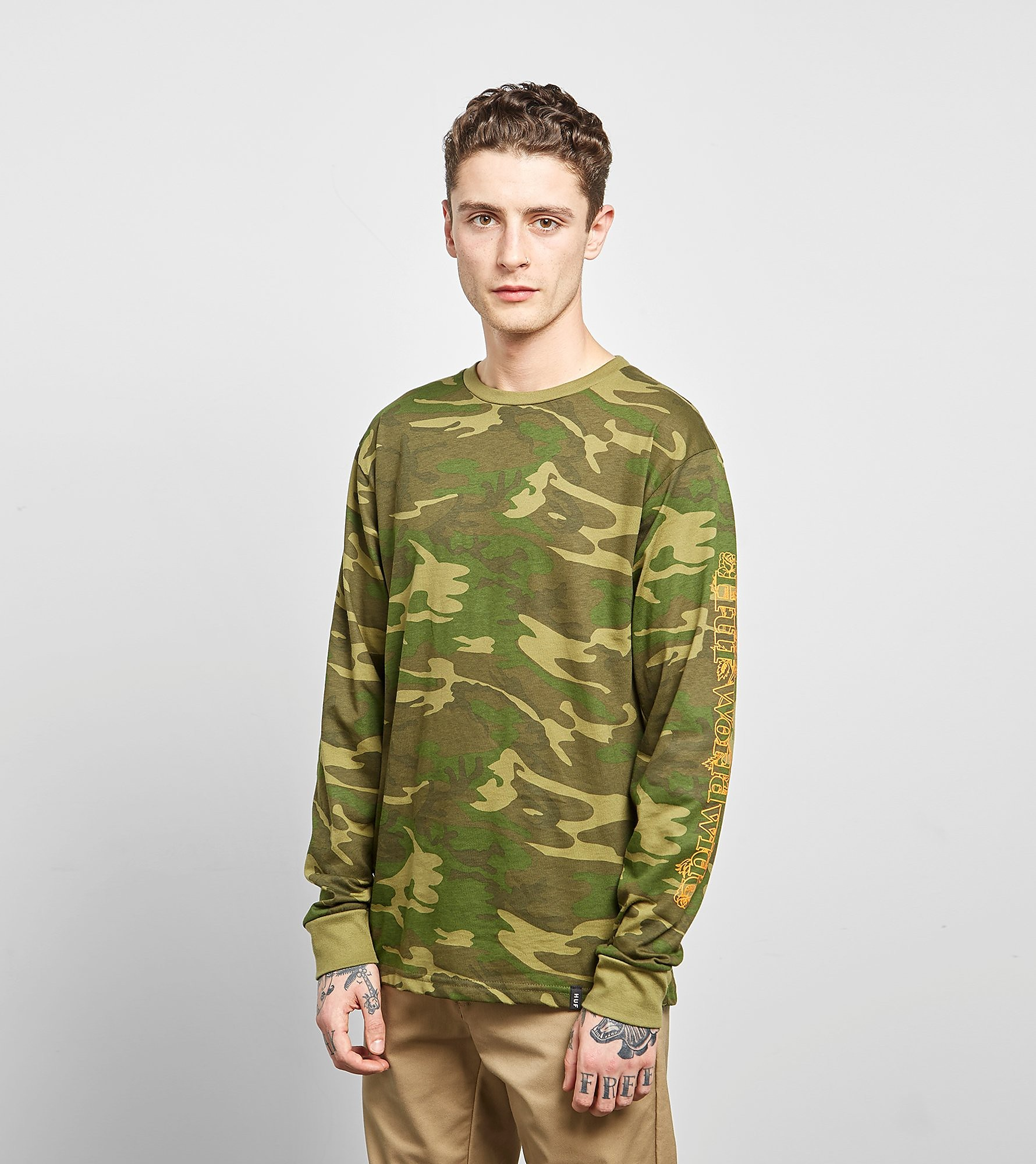 HUF Long Sleeved Ambush Rose T-Shirt