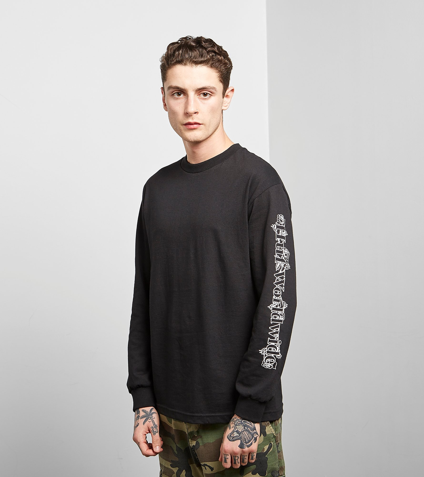 HUF Long Sleeved Ambush Rose T-Shirt