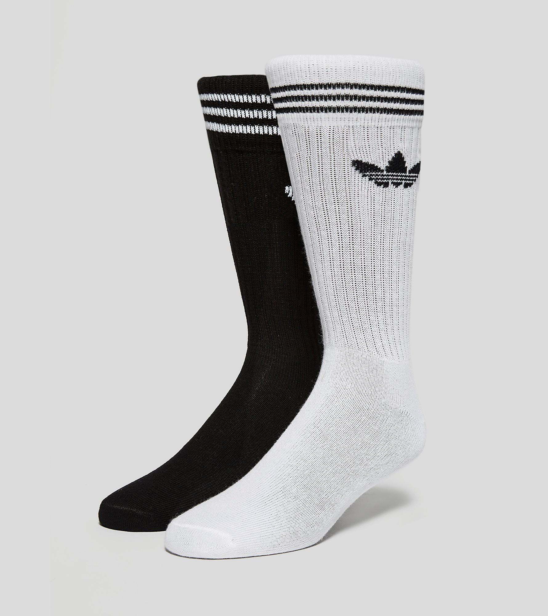 adidas Originals Two Pack Knee Socks