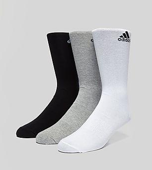 adidas 3 Pack Perfomance Crew Socks