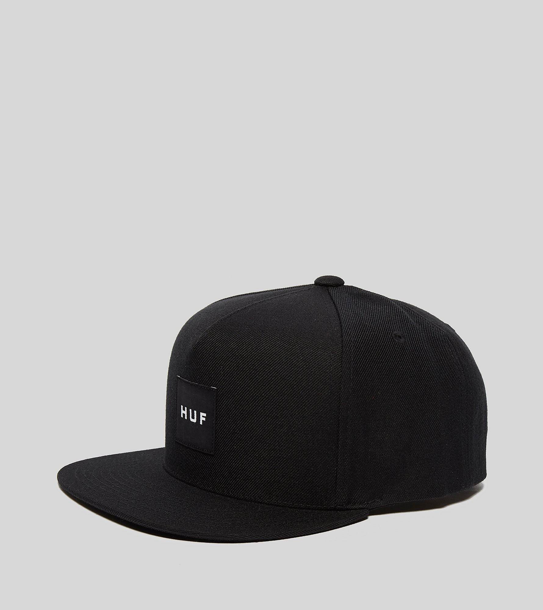 HUF Box Logo Snapback Cap